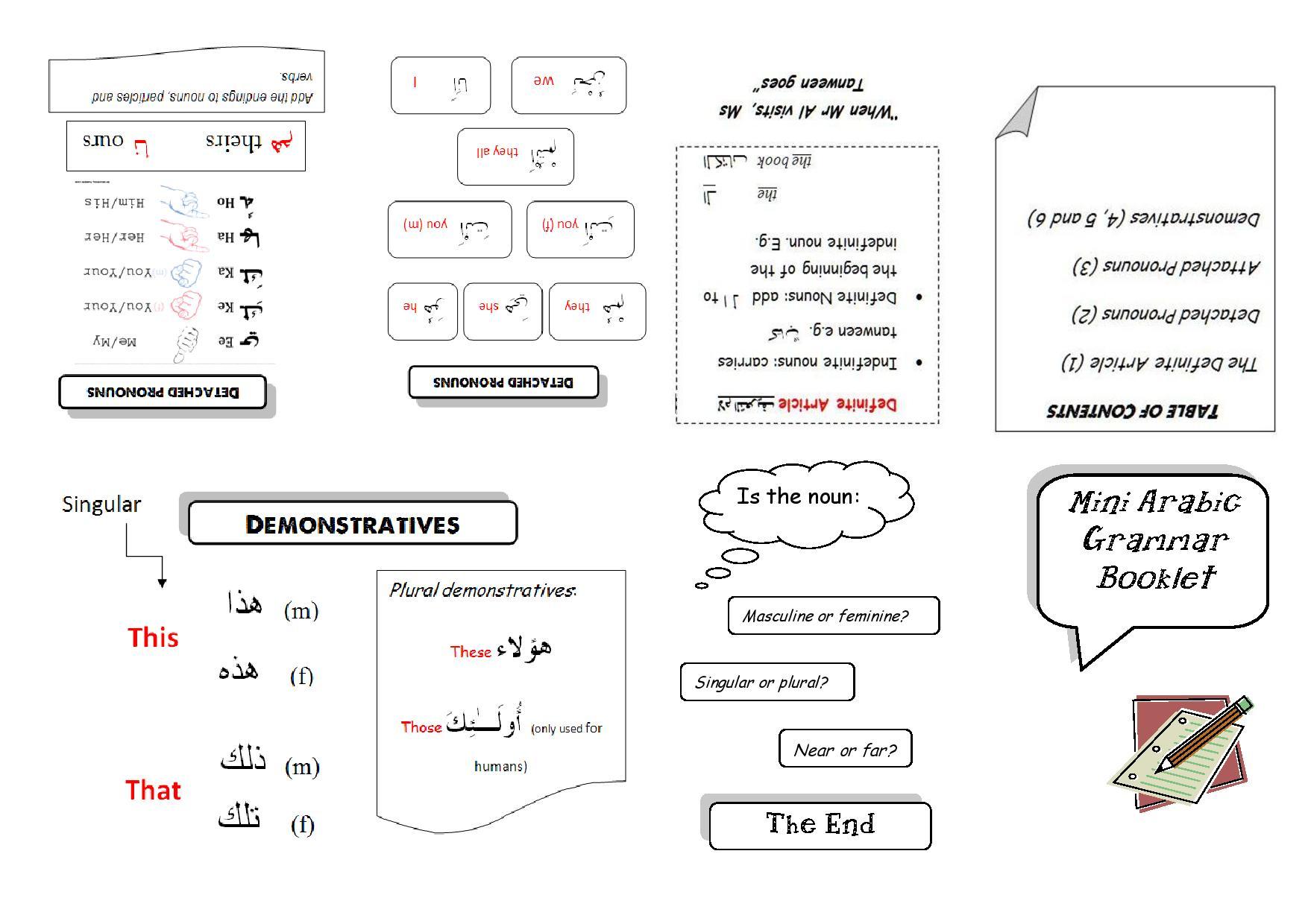 Advanced arabic grammar book pdf