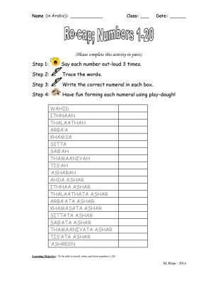 NUMBERS WORKSHEET 1-20-page-001