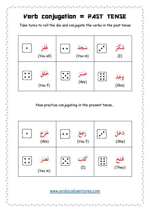 Verb conjugation sheet-page-001