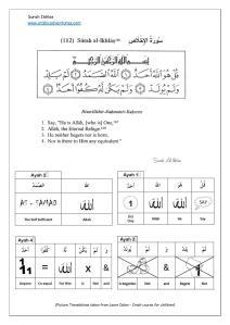 Surah Ikhlas sheet-page-001